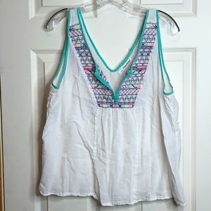 Maurices Tank Style Top Size 1 16 18 PLUS SIZE